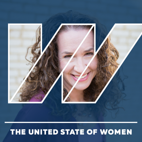 Dana in the United State of Women 'W' logo