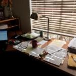Karen's desk