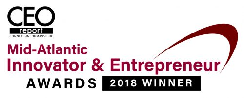 CEO Report Innovator Entrepreneur Awards Winner 2018 Banner